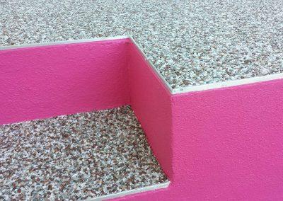 bretagne résine: revêtement moquette de pierre et peinture - particulier