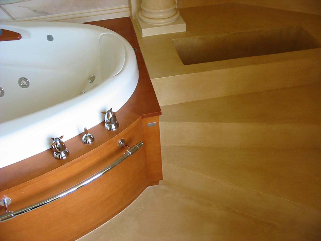 bretagne résine: salle de bain