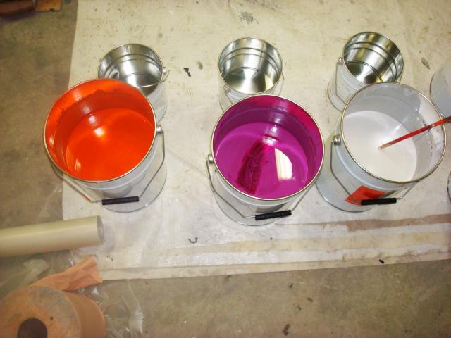 bretagne résine: peinture
