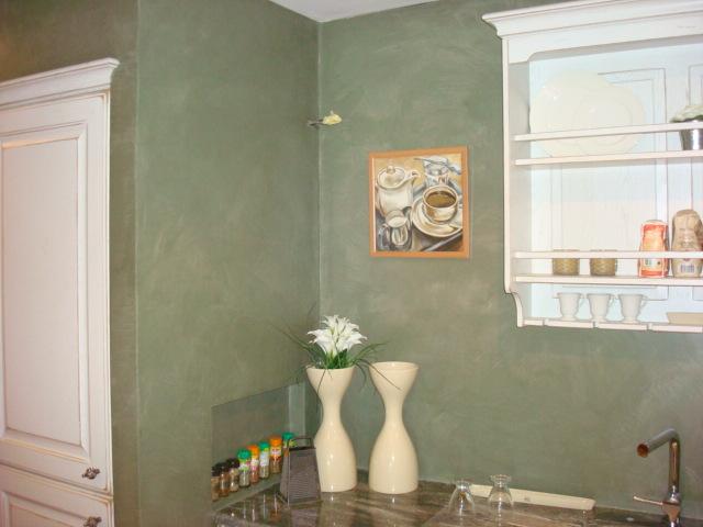 bretagne résine: béton ciré mur chez un particulier