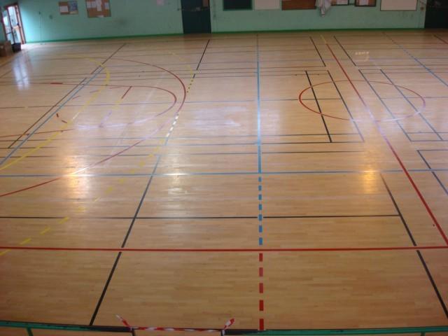 bretagne résine: marquage au sol salle de sport