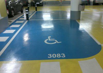 bretagne résine: parking-marquage